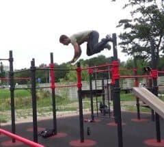 Calisthenics Bar Tricks, Bar Hop
