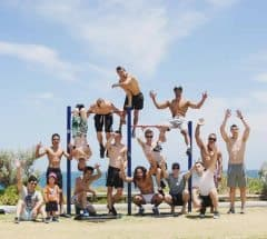 Perth Calisthenics Community Jam at Cottesloe